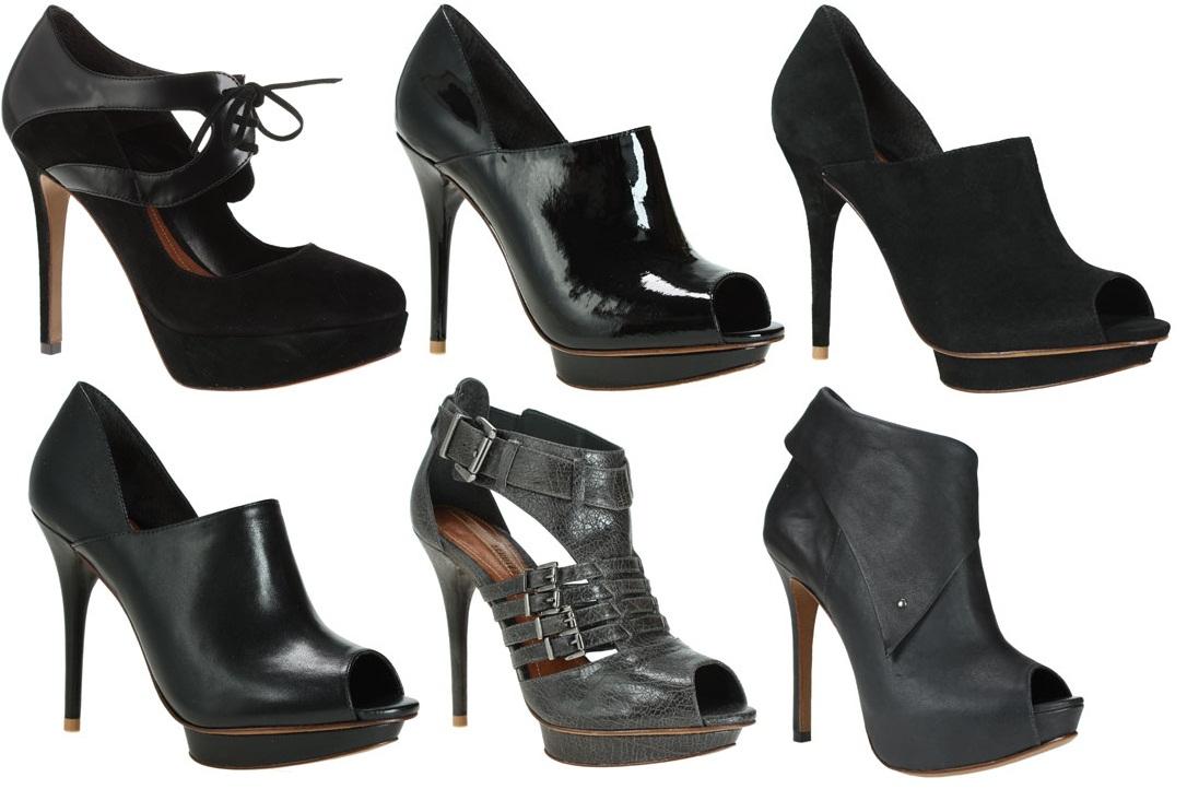 Coleção Schutz Inverno 2010: Sapatilhas, abotinados, sandálias etc.